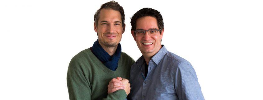 Daniel Schlau und Georg Staebner